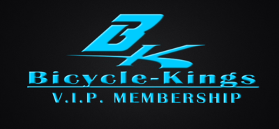 Bicycle-Kings V.I.P. Membership Card